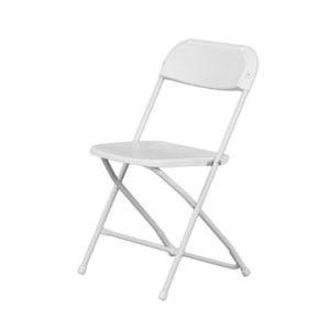 Plastic Folding Chair U2013 White