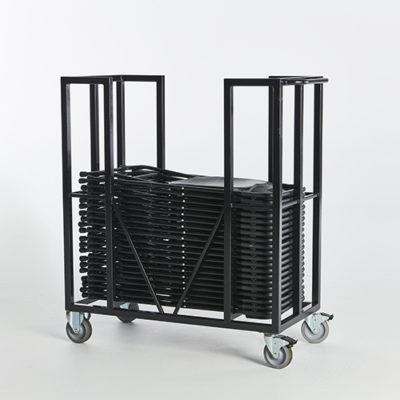 11. Folding Chair Cart-Full